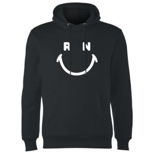 Ranz + Niana Smiley Hoodie - Black