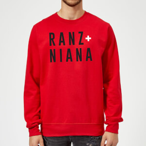 Ranz + Niana Sweatshirt - Red