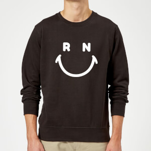 Ranz + Niana Smiley Sweatshirt - Black