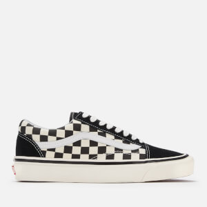 Vans Anaheim Old Skool 36 DX Trainers - Black/Check