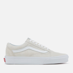 Vans Women's Old Skool Suede Trainers - Moonbeam/True White