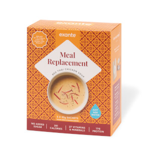 Meal Replacement Red Thai Chicken Soup, Pack of 5