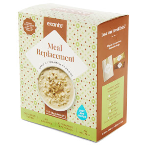 Meal Replacement Apple and Cinnamon Porridge, Pack of 5