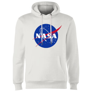 NASA Logo Insignia Hoodie - White