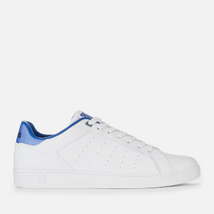 K-Swiss Men's Clean Court CMF Trainers - White/Bclassic Blue