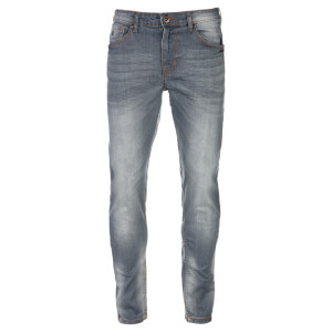 Threadbare Men's Skinny Jeans - Smoke Wash
