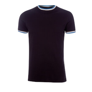 T-Shirt Homme Sacombe Tipped Broken Standard - Noir