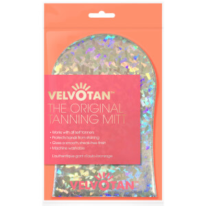 Velvotan Self Tan Applicator Original Body Mitt -rusketuskinnas, Holographic