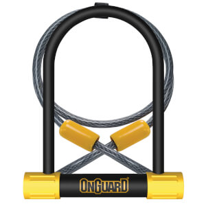 OnGuard Bulldog Standard Shackle U-Lock/Cable - 115mm x 230mm x 13mm
