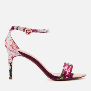 Ted Baker Women's Mylli Barely There Heeled Sandals - Serenity Satin/Textile