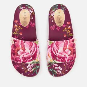 Ted Baker Women's Qarla Slide Sandals - Serenity Print