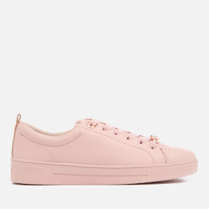 Ted Baker Women's Gielli Leather Cupsole Trainers - Pink