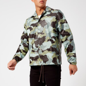 RAINS AOP Coach Jacket - Sea Camo
