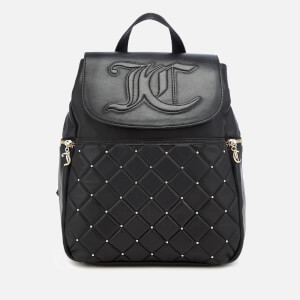 Juicy Couture Women's Ellen Flapover Backpack - Black