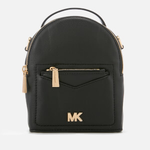 MICHAEL MICHAEL KORS Women's Jessa Extra Small Convertible Backpack - Black