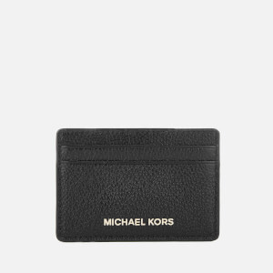 MICHAEL MICHAEL KORS Women's Mercer Pebble Card Holder - Black