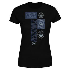 T-Shirt Femme La Résistance - Star Wars - Noir