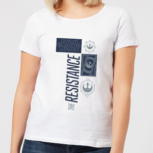 Star Wars The Resistance White Women's T-Shirt - White