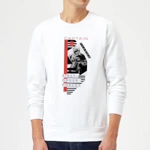 Sweat Homme Capitaine Phasma - Star Wars - Blanc