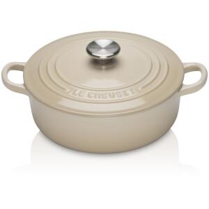 Le Creuset Signature Cast Iron Risotto Pot - 22cm - Almond