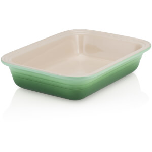 Le Creuset Stoneware Deep Rectangular Dish - 29cm - Rosemary