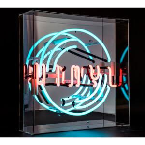 "Acryl Neon ""Vinyl"" Schallplatte"