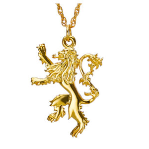 Collier Plaqué Or Maison Lannister - Game of Thrones