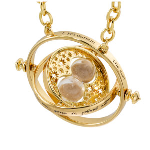 Harry Potter Special Edition Time Turner Replica in Collector's Display Box