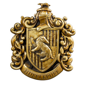 Harry Potter Huffelpuff Crest Wall Art
