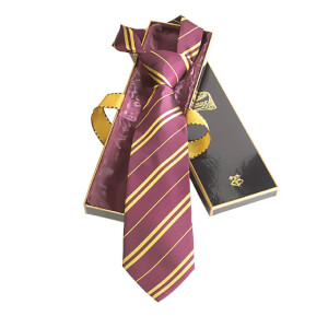 Harry Potter 100% Silk Gryffindor Necktie in Madam Malkin's Box