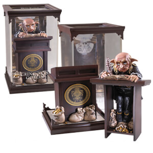 Harry Potter Magical Creatures Gringotts Goblin Sculpture