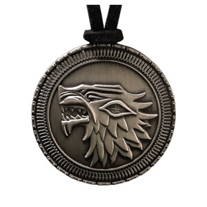 Collier Maison Stark - Game of Thrones