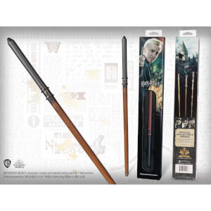 Harry Potter Draco Malfoy's Wand with Window Box