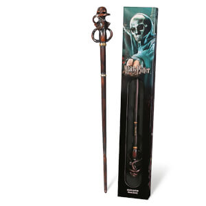 Harry Potter Death Eater's Swirl Wand with Window Box
