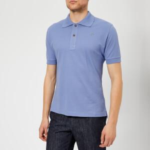 Vivienne Westwood Men's Pique Polo Shirt - Powder Blue