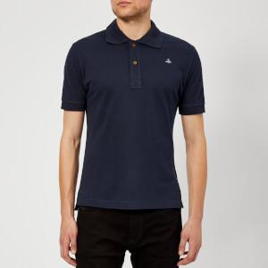 Vivienne Westwood Men's Pique Polo Shirt - Navy