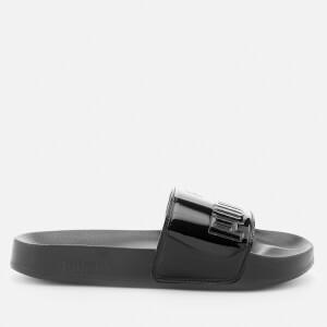 Puma Women's Leadcat Patent Slide Sandals - Puma Black: Image 2