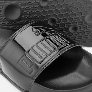 Puma Women's Leadcat Patent Slide Sandals - Puma Black: Image 3