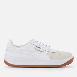 Puma Women's California Exotic Trainers - Whisper White/Puma White/Puma Team Gold