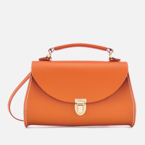 The Cambridge Satchel Company Women's Mini Poppy Bag - Amber Glow/Clay