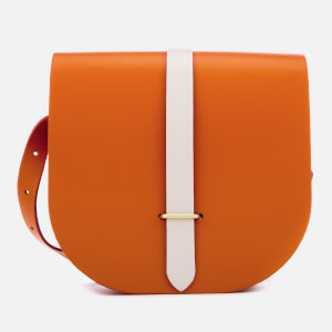 The Cambridge Satchel Company Women's Saddle Bag - Amber Glow/Clay