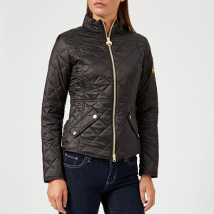 Barbour International Women's Delaware Quilted Jacket - Black