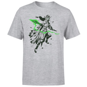 Magic The Gathering Nissa Character Art T-Shirt - Grau