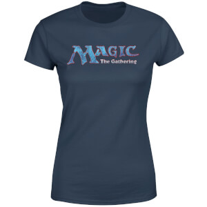Magic The Gathering 93 Vintage Logo Women's T-Shirt - Navy