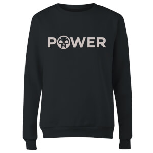 Magic The Gathering Power Women's Sweatshirt - Black