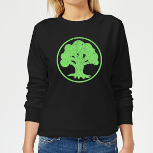 Sweat Femme Mana Vert - Magic : The Gathering - Noir