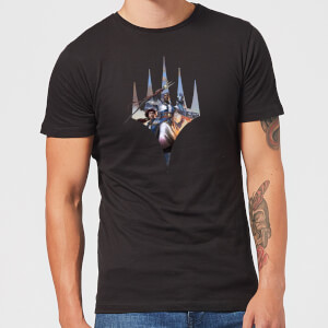 Magic The Gathering Key Art With Logo T-Shirt - Black