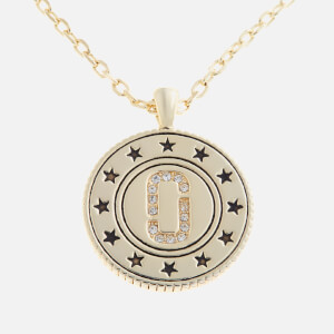 Marc Jacobs Women's Medallion Double Sided Pendant - Gold