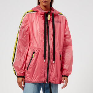 Marc Jacobs Women's Hooded Windbreaker Jacket - Bright Pink