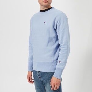 Champion Men's Crew Neck Sweatshirt - Light Blue